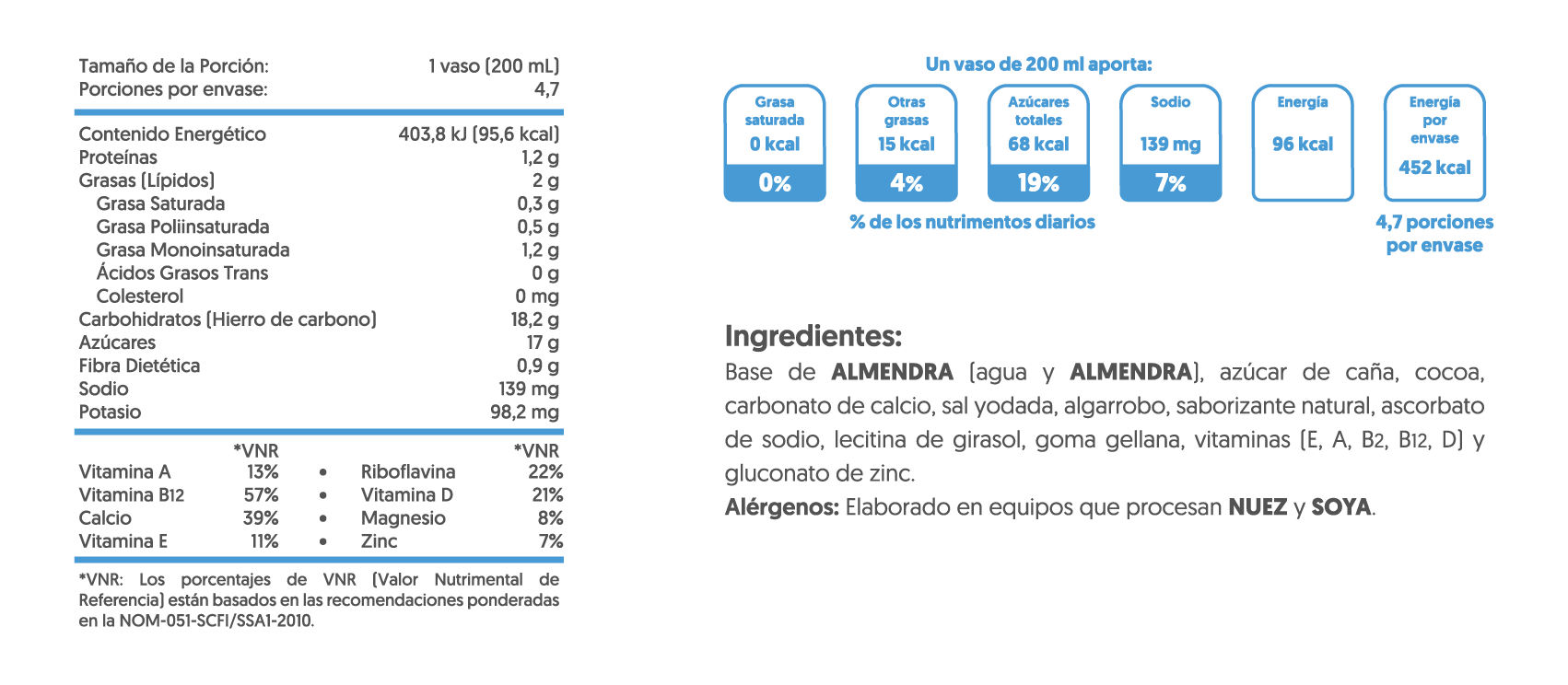 TN-Almendra Chocolate 946ml