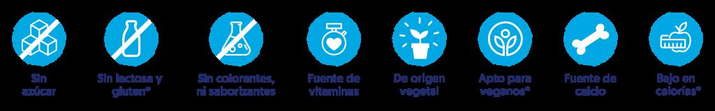 Características Almendra vainilla sin azúcar
