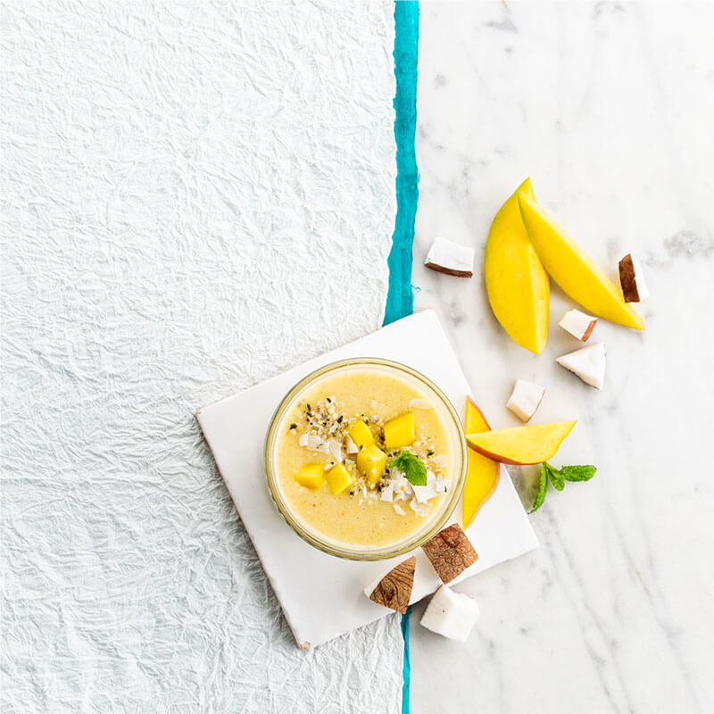 """Sunshine"" Smoothie de Coco"