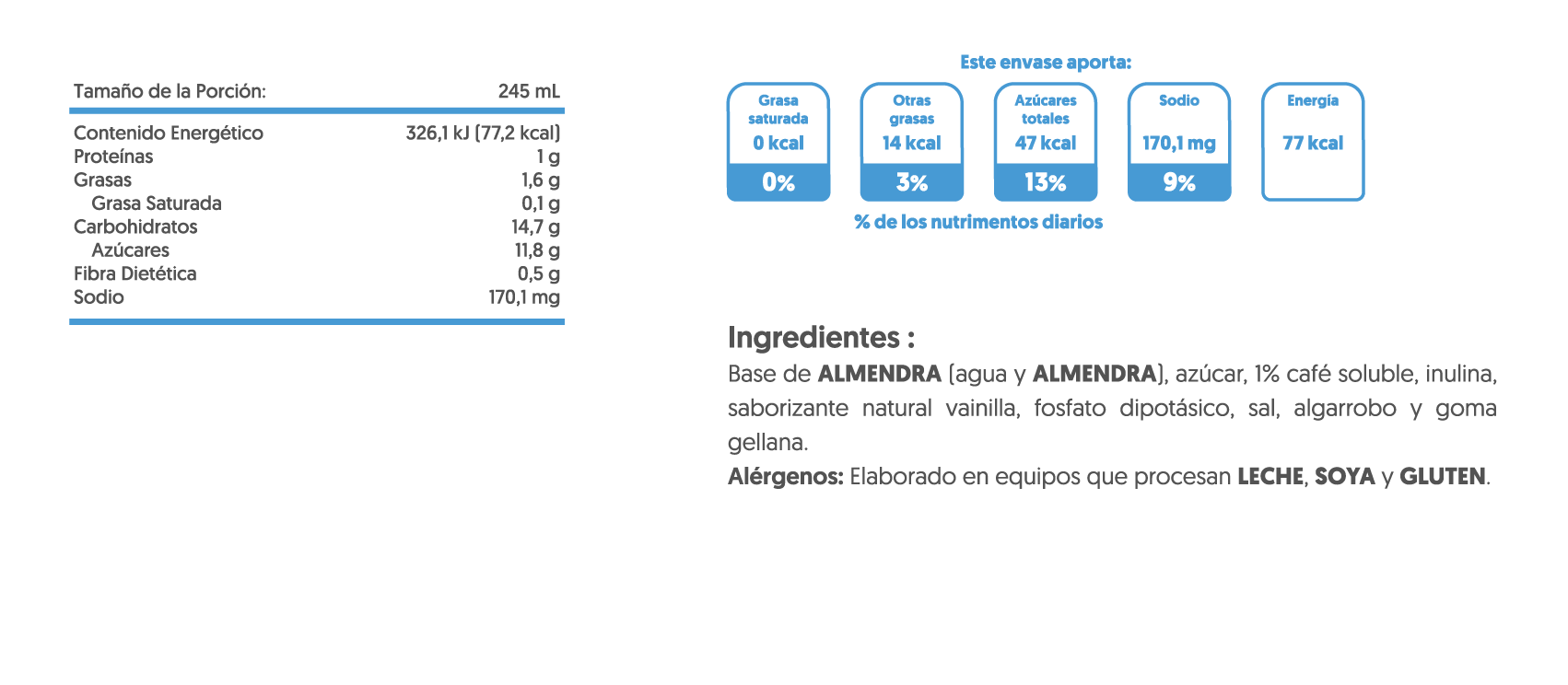 TN-CAFE VAINILLA 245ml